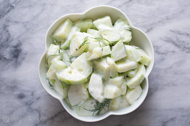 Cucumber Yogurt Salad (Tzatziki)