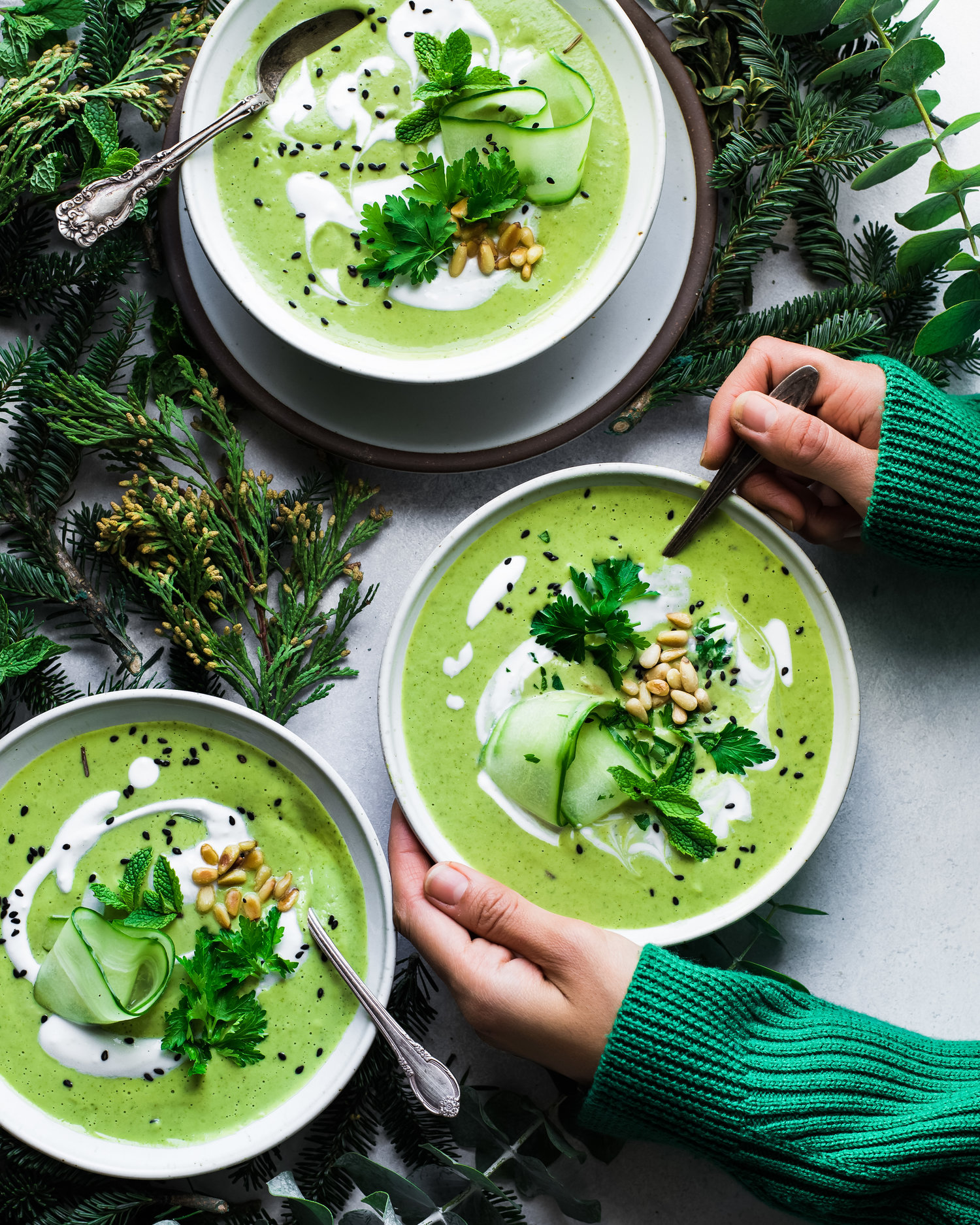 Vegan Green Goddess Soup  — Rainbow Plant Life